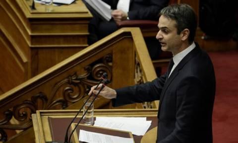 Βουλή – Ασφαλιστικό: Μητσοτάκης: Προτείνει συμψηφισμό για τον ΟΓΑ