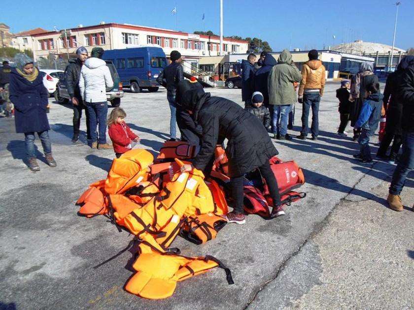 Λέσβος: 1.659 πρόσφυγες καταγράφηκαν το τελευταίο 24ωρο (pics)