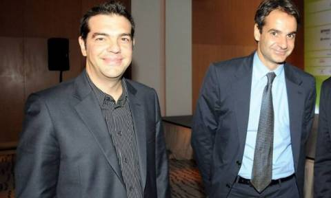 Tσίπρας και Μητσοτάκης στο συνέδριο για την ψηφιακή οικονομία του ΣΕΠΕ
