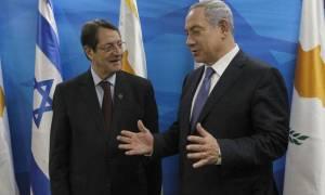 На Кипре проходит встреча Алексиса Ципраса, Биньямина Нетаньяху и Никоса Анастасиадиса