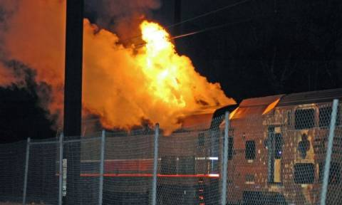 Τρόμος στη Φλόριντα: Εκτροχιασμός τρένου με 40 επιβάτες (Vid)