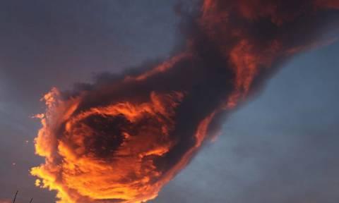 Μοναδικό θέαμα: «Το χέρι του Θεού» εμφανίστηκε στην Πορτογαλία