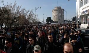 Επεισόδια Θεσσαλονίκη: Το «ντου» των αγροτών στο Βελλίδειο (vids)