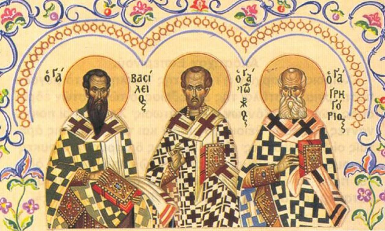 Οι τρεις Ιεράρχες, οι προστάτες των γραμμάτων - Newsbomb - Ειδησεις - News