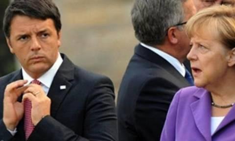 Ρέντσι: Δεν συμφωνούμε σε όλα με τη Μέρκελ – Νέα «καρφιά» για Γιουνκέρ