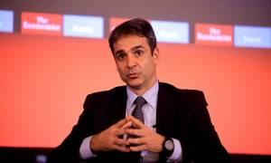 Μητσοτάκης από Economist: «Όχι» σε οικουμενική κυβέρνηση