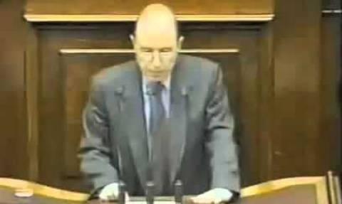 Σημίτης-Ίμια: Αυτή είναι η πιο ταπεινωτική στιγμή του ελληνικού έθνους