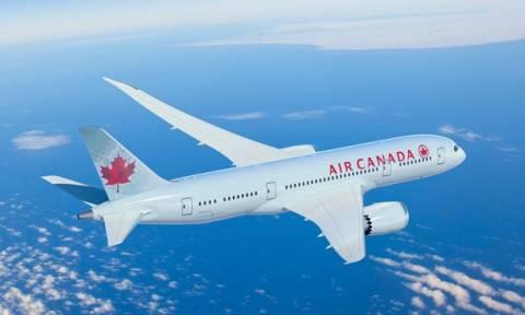 Πτήση τρόμου για αεροπλάνο της Air Canada