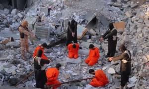 Νέο σκληρό βίντεο του ISIS: Μαζική εκτέλεση αιχμαλώτων από γαλλόφωνο Τζιχαντιστή (Vid)