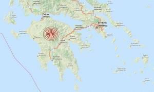 Σεισμός 3,7 Ρίχτερ βόρεια της Δημητσάνας