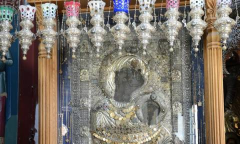 Η πιο πολύτιμη εικόνα του Αγίου Όρους και η απίστευτη ιστορία της (vid)