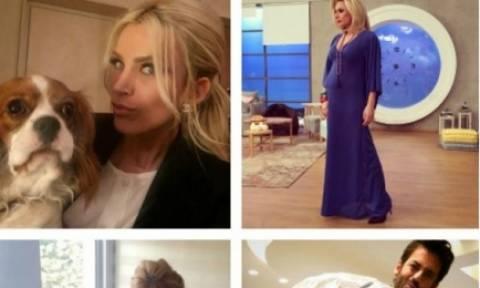 Τι έκαναν οι Έλληνες celebrities το Σαββατοκύριακο;