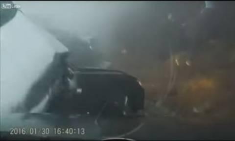 Φονική καραμπόλα 70 αυτοκινήτων στη Σλοβενία (video)
