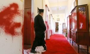 Θεσσαλονίκη: Ανάληψη ευθύνης για την επίθεση στα γραφεία της μητρόπολης