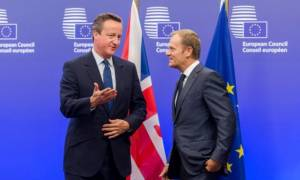 Ο Τουσκ παρουσίασε τις προτάσεις της ΕΕ για μία νέα συμφωνία με τη Βρετανία