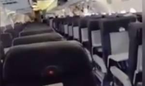 Βίντεο - σοκ: Θρίλερ στον αέρα - Έκρηξη σε αεροπλάνο τη στιγμή της απογείωσης