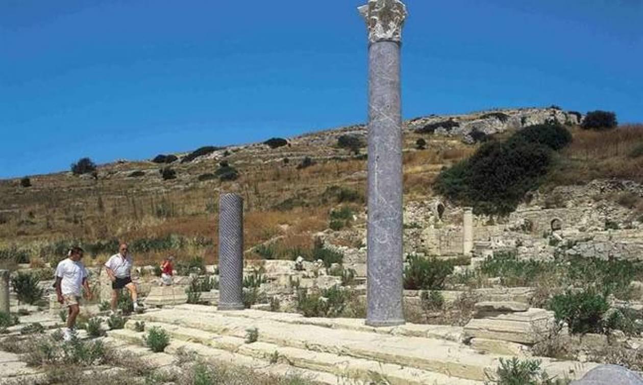Σεξουαλική κατάρα σε πλακέτα του 7ου μ.Χ αιώνα ανακαλύφθηκε στην Κύπρο