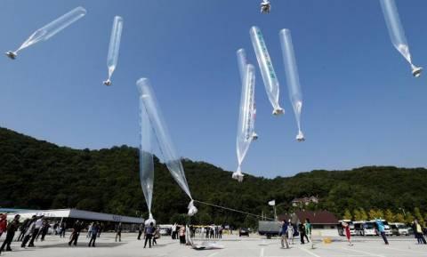 O Κιμ Γιονγκ Ουν έστειλε μπαλόνια με χρησιμοποιημένο χαρτί υγείας στη Ν. Κορέα (pics)