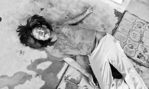Πολύ σκληρό βίντεο: Ξυλοκόπησε την έγκυο γυναίκα του μέχρι λιποθυμίας