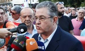 Απεργία - Κουτσούμπας: Να αποσυρθεί εδώ και τώρα το αντιασφαλιστικό νομοσχέδιο-έκτρωμα