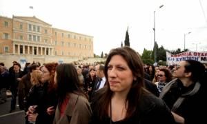 Κωνσταντοπούλου: Η κοινωνία στο δρόμο, ο Αλέξης στη Μέρκελ και τα ΜΑΤ στη Βουλή