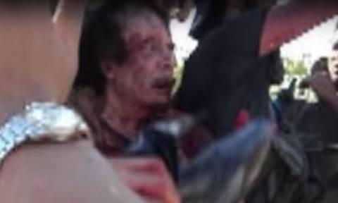 Πολύ σκληρές εικόνες: Νέο βίντεο με τις τελευταίες στιγμές του Καντάφι