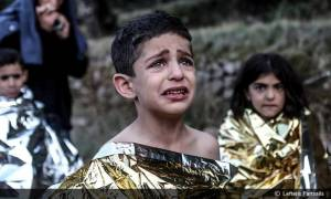 Λευτέρης Παρτσάλης: Από το Νόμπελ Ειρήνης... στα παιδιά με τα τρομαγμένα μάτια…(pics+video)