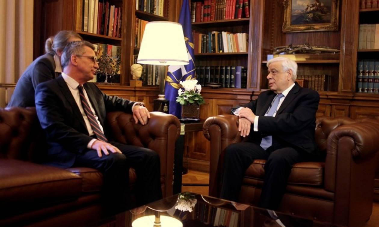 Παυλόπουλος: Η Ελλάδα θα εκπληρώσει στο ακέραιο τις υποχρεώσεις της σχετικά με το προσφυγικό