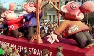 DW: Καρναβάλι στην Γερμανία με... Μέρκελ