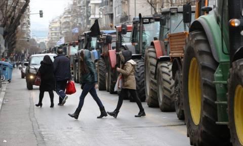 Θεσσαλονίκη: Κυκλοφοριακό «κομφούζιο» λόγω της αγροτικής κινητοποίησης