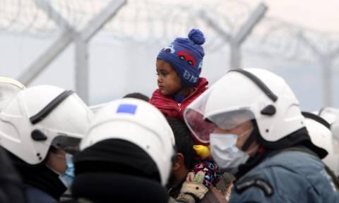 Πανελλήνια κινητοποίηση ενάντια στον φράχτη της Ειδομένης