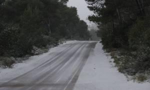 Άνοιξε η Λεωφόρος Πάρνηθος - Κανονικά διεξάγεται η κυκλοφορία των οχημάτων