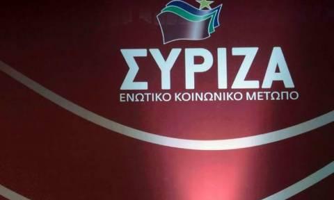 Ο ΣΥΡΙΖΑ καταδικάζει την επίθεση στα γραφεία του ΠΑΣΟΚ
