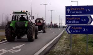 Μπλόκα αγροτών: Κανονικά η κυκλοφορία των οχημάτων στον κόμβο Καρδίτσας