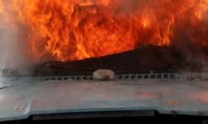 Παρανάλωμα του πυρός έγινε αυτοκίνητο στα Χανιά