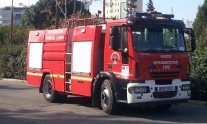 Φωτιά ξέσπασε τα ξημερώματα σε αποθήκη του ΚΑΤ