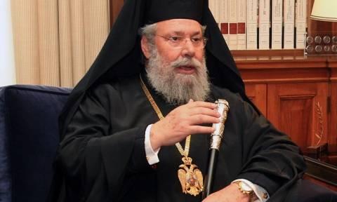 Αρχιεπίσκοπος Κύπρου: Είμαστε πολύ μακριά από τη λύση