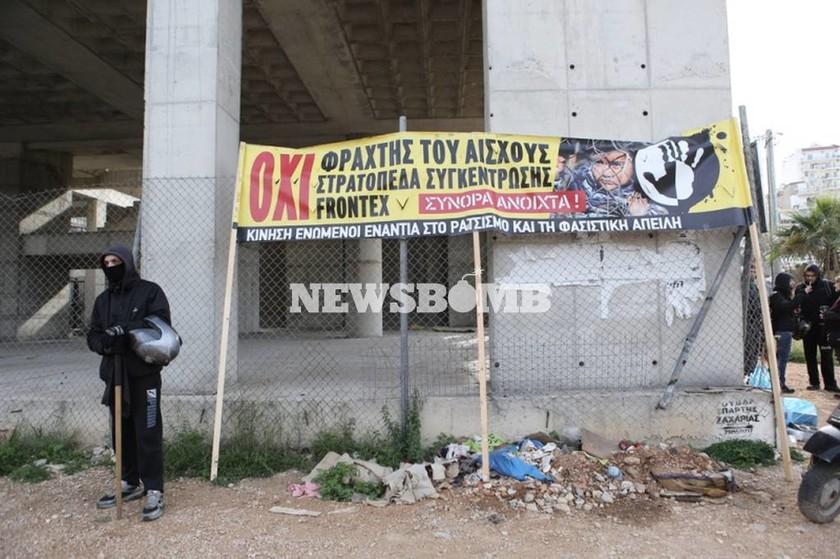 «Μυρίζει μπαρούτι» στο Σχιστό για τη δημιουργία Κέντρου Μετεγκατάστασης Προσφύγων (photos)