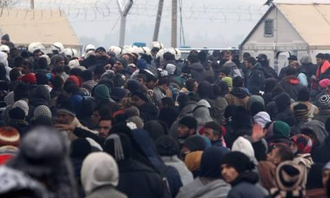 Ειδομένη: Ομαλοποιήθηκε η ροή προσφύγων προς τα Σκόπια