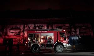 Υπό μερικό έλεγχο η πυρκαγιά στη Μεταμόρφωση