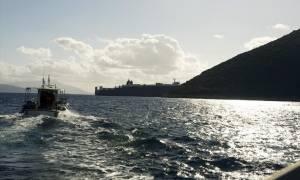 Προσάραξη φορτηγού πλοίου νότια της Κέας