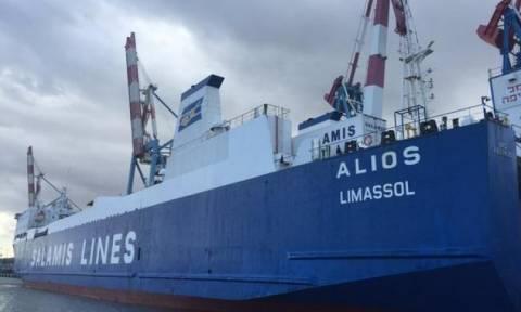 Αποκολλήθηκε με ασφάλεια το πλοίο «Alios» που είχε προσαράξει νότια της Κέας