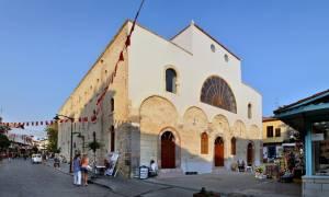 Λειτουργήθηκε για πρώτη φορά μετά το 1922 ο Άγιος Χαράλαμπος στο Τσεσμέ