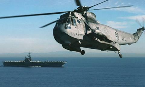 Αυτή είναι η  ανακοίνωση του ΓΕΝ για το ελικόπτερο που αγνοείται