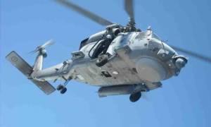 Βρέθηκαν στη νησίδα Κίναρο τα συντρίμμια του ελικοπτέρου του Πολεμικού Ναυτικού