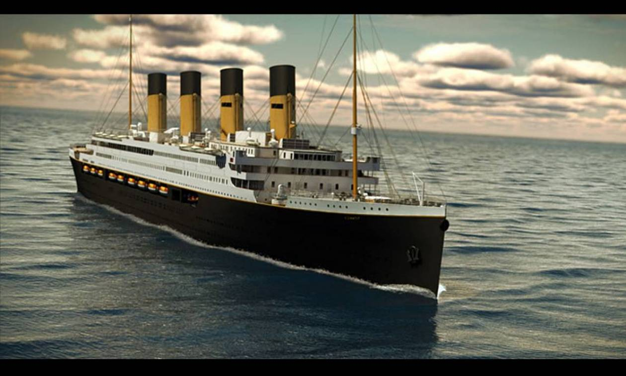 Ο Τιτανικός επιστρέφει στη θάλασσα το 2018