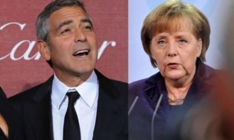 Ο Τζορτζ Κλούνεϊ θα συναντηθεί με την Μέρκελ για την προσφυγική κρίση
