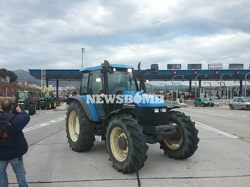 Αγροτικές κινητοποιήσεις: Ξεκίνησε η απόβαση των αγροτών στην Αθήνα