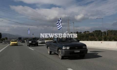 Δείτε LIVE την κάθοδο των αγροτών στην Αθήνα