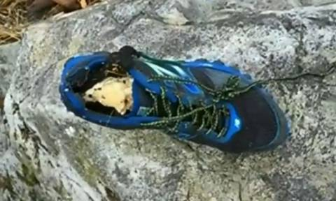Φρικιαστικό μυστήριο στον Καναδά: Ξεβράστηκαν 16 παπούτσια με κομμένα πόδια! (photos)